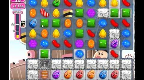 Candy Crush Saga Tile Removed