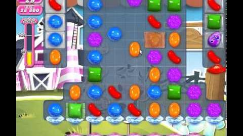Candy Crush Saga Level 244 - 3 Star - no boosters
