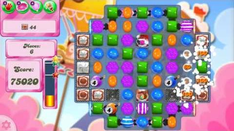Candy Crush Saga Level 2625 NO BOOSTERS