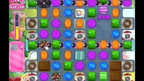 Candy Crush Saga Level 588 ( New with 28 Moves and 4 Candy Colours ) No Boosters 1 Star