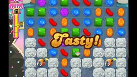Candy Crush Saga Level 96 ( New with 10 Moves Candy Bombs ) No Boosters 3 Stars