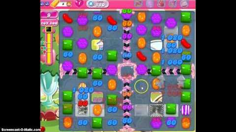 Candy Crush Saga Level 580 Walkthrough No Booster