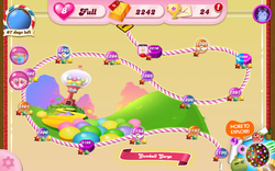 Gumball Gorge Map Mobile