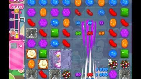 Candy Crush Saga Level 1222 ( New with 37 Moves ) ( 3 stars ) No Boosters