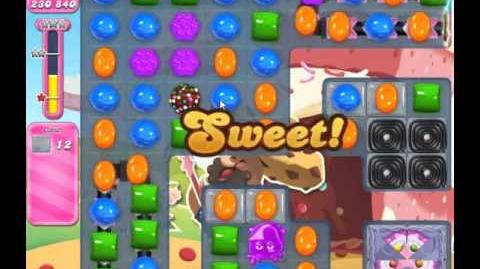 Candy Crush Saga Level 1654 - NO BOOSTERS