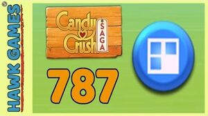 Candy Crush Saga Level 787 (Jelly level) - 3 Stars Walkthrough, No Boosters