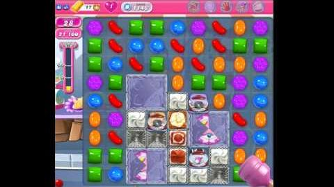 Candy Crush Saga Level 1146 No Boosters