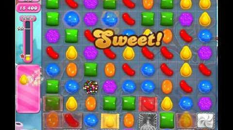 Candy Crush Saga Level 306 - 1 Star - no boosters