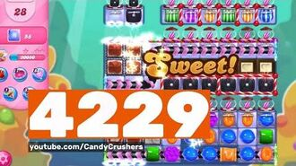 Candy Crush Saga - Level 4229 - No boosters ☆☆☆
