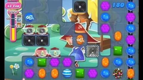 Candy Crush Saga Level 1912 Hard Level NO BOOSTER (3rd Version-Spawn Extra Time Candy)