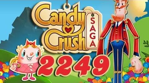 Candy Crush Saga Level 2249