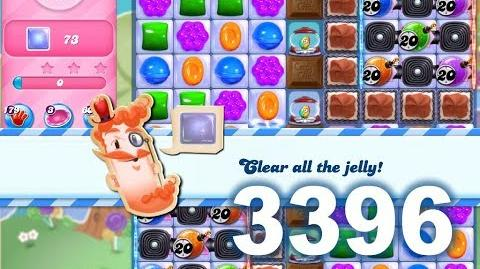 Candy Crush Saga Level 3396 (3 stars, No boosters)