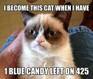 1 BLUE CANDY!!!!