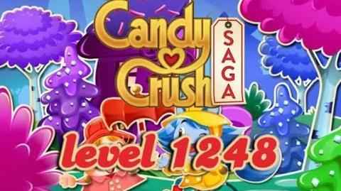 Candy Crush Saga Level 1248 - ★★★