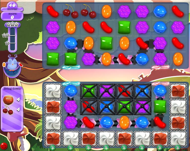 how to pass level 660 on candy crush