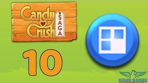 Candy Crush Saga 🎪 Level 10 Hard (Jelly level) - 3 Stars Walkthrough, No Boosters