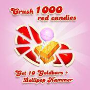 Match 1000 red candies 150214