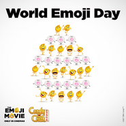 World Emoji Day with Candy Crush cover