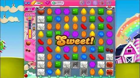 Candy Crush Saga - Level 348 - No boosters ☆☆☆