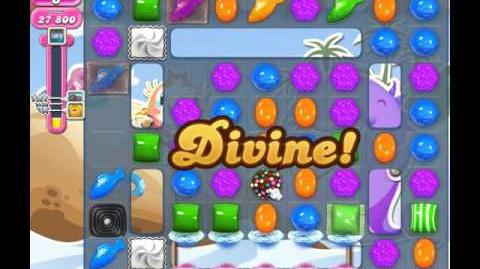 Candy Crush Saga Level 1640 ( New with More Icings and 4,5000 Points ) 2 Stars No Boosters