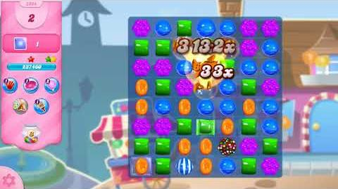 Candy Crush Saga Level 2964 NO BOOSTERS (14 moves)