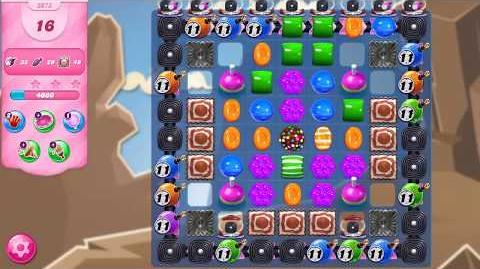 Candy Crush Saga Level 3073 NO BOOSTERS (18 moves)