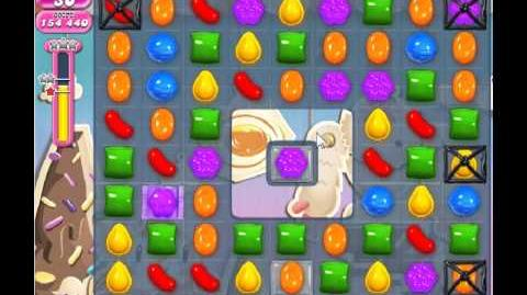 Candy Crush Saga Level 45 - 2 Star - no boosters