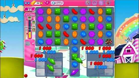 Candy Crush Saga - Level 246 - No boosters ☆☆☆