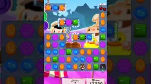 Candy Crush Level 2028 (2nd version, 18 moves and swirls)