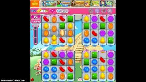 Candy Crush Glitch, level 323