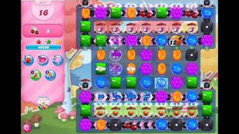Candy Crush Saga - Level 3471 - No boosters ☆☆☆