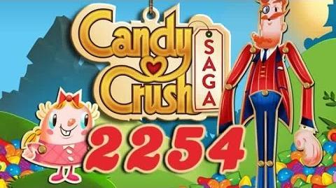 Candy Crush Saga Level 2254