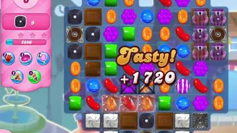 Candy Crush Saga Level 2938 NO BOOSTERS (10 moves)