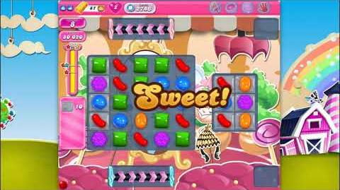 Candy Crush Saga - Level 2746 - No boosters ☆☆☆