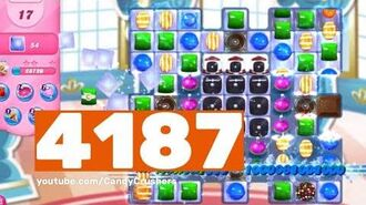 Candy Crush Saga - Level 4187 - No boosters ☆☆☆