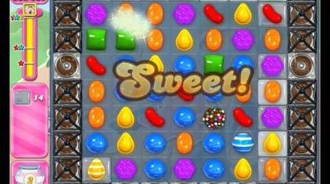 Candy Crush Saga Level 1596 Hard Level NO BOOSTER (2nd Version + New CB+Wrapped combination)