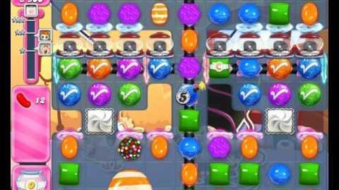 Candy Crush Saga Level 1843 Hard Level NO BOOSTER (2nd Version)