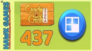 Candy Crush Saga Level 437 (Jelly level) - 3 Stars Walkthrough, No Boosters