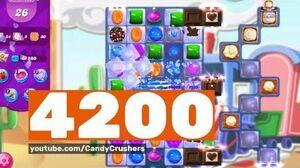 Candy Crush Saga - Level 4200 ☆☆☆!!!