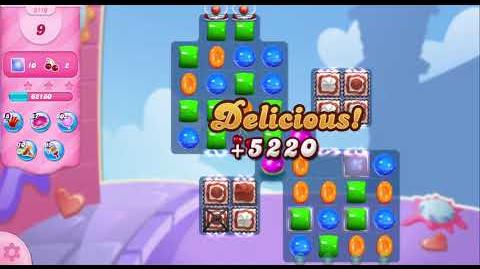 Candy Crush Saga Level 3110 NO BOOSTERS (14 moves)