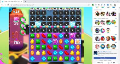 Candy Crush Soda Saga on Facebook - Google Chrome 2 22 2020 11 28 45 AM