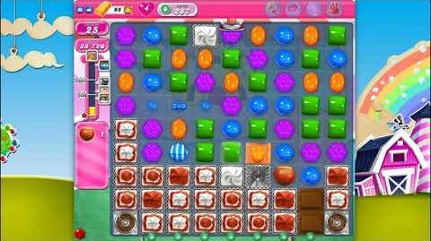 Candy Crush Saga - Level 287 - No boosters ☆☆☆