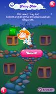 Fairy Fair Green Candy Lantern