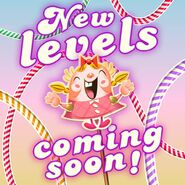 New levels announcement 135