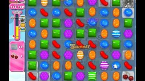 Candy Crush Saga Level 1815 ( New with 21 Moves ) No Boosters 1 Star