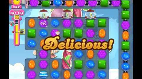 Candy Crush Saga Level 1817 ( New with Extra Time Candy Cannons ) No Boosters 3 Stars