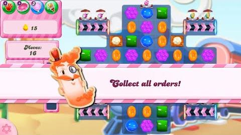 Candy Crush Saga Level 2807 NO BOOSTERS