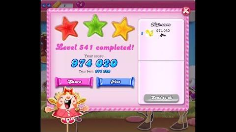 Candy Crush Saga Level 541 ★★★ NO BOOSTER