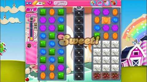 Candy Crush Saga - Level 341 - No boosters ☆☆☆