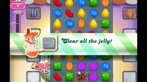 Candy Crush Saga Level 207 - 1 Star - no boosters